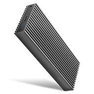 AXAGON EEM2-XR, M.2 NVMe DUAL RADIATOR box, SuperSpeed USB-C 10 Gbps