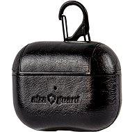 AlzaGuard Premium Leather Case pro AirPods Pro černé