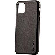 AlzaGuard Premium Leather Case for iPhone 11 černé - Kryt na mobil