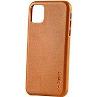 AlzaGuard Premium Leather Case for iPhone 11 hnědé - Kryt na mobil