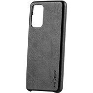 AlzaGuard Premium Leather Case for Samsung Galaxy A52 / A52 5G / A52s černé - Kryt na mobil