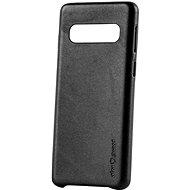 AlzaGuard Premium Leather Case for Samsung Galaxy S10 černé - Kryt na mobil