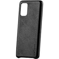 AlzaGuard Premium Leather Case for Samsung Galaxy S20+ černé - Kryt na mobil