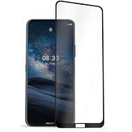 AlzaGuard 2.5D FullCover Glass Protector pro Nokia 8.3 5G černý - Ochranné sklo