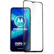Ochranné sklo AlzaGuard 2.5D FullCover Glass Protector pro Motorola Moto G8 Power Lite černý