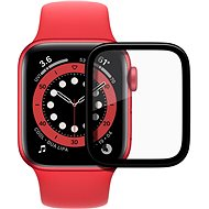 AlzaGuard FlexGlass pro Apple Watch 44mm - Ochranné sklo
