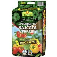 FLORIA Substrát na rajčata a papriky 40 l  - Substrát