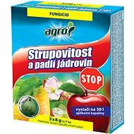 AGRO Strupovitost a padlí jabloní STOP 3x8g - Fungicid