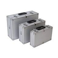 AHProfi Sada hliníkových kufrů 3v1 - AH14021b - Kufr na nářadí