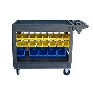 AHProfi Montážní vozík s úložným systémem, 42 boxů - Organizér