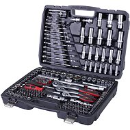 "AHProfi Tool Set in Case with Gola 1/4"", 3/8"" and 1/2"", 215 Parts - AH12215"