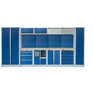 AHProfi PROFI BLUE dílenský nábytek 4235 x 465 x 2000 mm - MTGS1301AA - Sestava dílenského nábytku