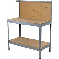 AHProfi pracovní stůl s děrovanou deskou a úložným prostorem - Pracovní stůl