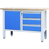 AHProfi work table with three drawers and cabinet