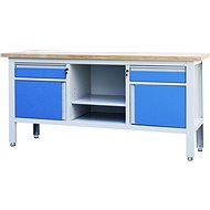 AHProfi work table with two drawers, two cabinets and a shelf