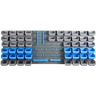 AHProfi Hanging organizer for screws and tools, 69 pieces