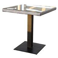 Dimenza BARCELONA stolek šedý - Zahradní stůl