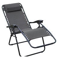 DIMENZA Relaxing Adjustable Lounger, Grey