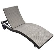 DIMENZA STRASBOURGH Lounger, Light Brown
