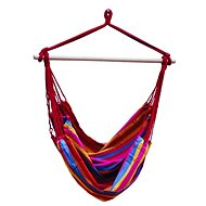 DIMENSION BRASIL Hanging Swing,  Red with Stripes