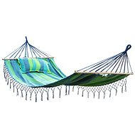 DIMENSION MAXI Hammock for Two People, Blue with Stripes - Hammock