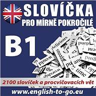 Angličtina – Slovíčka pro mírně pokročilé B1