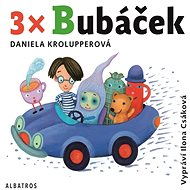 3x Bubáček - Audiokniha MP3
