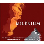 Původní trilogie Milénium za výhodnou cenu - Audiokniha MP3
