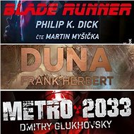 3 slavné sci-fi romány za výhodnou cenu