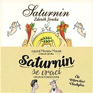 Balíček audioknih Saturnin a Saturnin se vrací za výhodnou cenu