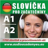 Němčina slovíčka pro začátečníky A1, A2 - Audiokniha MP3