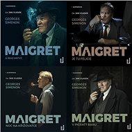 Balíček audioknih komisař Maigret za výhodnou cenu - Audiokniha MP3