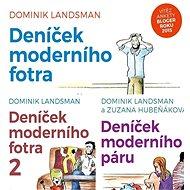 Balíček humorných audioknih Deníček moderního páru a fotra za výhodnou cenu