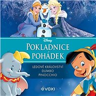 Disney - Ledové království, Dumbo, Pinocchio - Audiokniha MP3