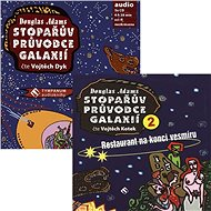 Balíček audioknih Stopařův průvodce Galaxií za výhodnou cenu - Audiokniha MP3