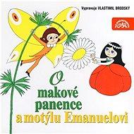 O makové panence a motýlu Emanuelovi - Audiokniha MP3