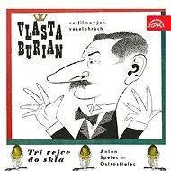 Vlasta Burian ve filmových veselohrách - Audiokniha MP3