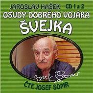 Audiokniha MP3 Osudy dobrého vojáka Švejka CD 1 & 2 - Audiokniha MP3