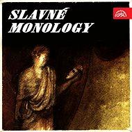 Audiokniha MP3 Slavné monology - Audiokniha MP3