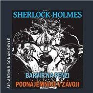 Sherlock Holmes – Barvíř na penzi/Podnájemnice v závoji - Audiokniha MP3