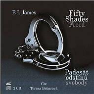 Audiokniha MP3 Padesát odstínů svobody - Audiokniha MP3