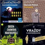 Balíček audioknih To nejlepší z Agathy Christie za výhodnou cenu
