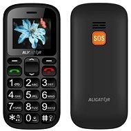 Aligator A321 Senior Grey - Mobilní telefon