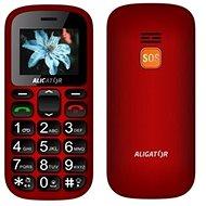 Aligator A321 Senior červeno-černý