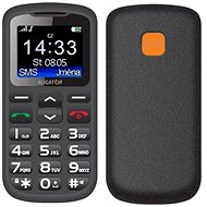 Aligator A431 Senior Black/Grey + Desktop Charger - Mobile phone for seniors