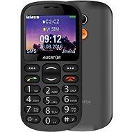 Aligator A880 GPS Senior černý - Mobilní telefon