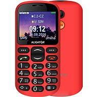 Aligator A880 GPS Senior Red + desktop charger - Mobile Phone