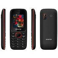 Aligator D200 Dual SIM černo-červený - Mobilní telefon