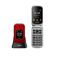 Aligator V650 Red-Silver - Mobile Phone