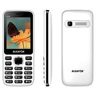 Aligator D930 Dual SIM bílá/černá - Mobilní telefon